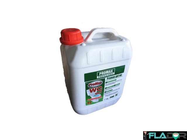 Solutie WC Promax igienizant parfum brad 5 litri - 1/1