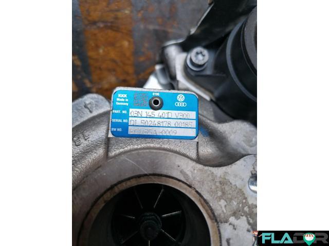 03N145401D B01/35A-0009 Turbosuflanta Skoda Kodaiq VW Passat 3G2 Tiguan AD1 2.0 TDI 4motion - 1/6