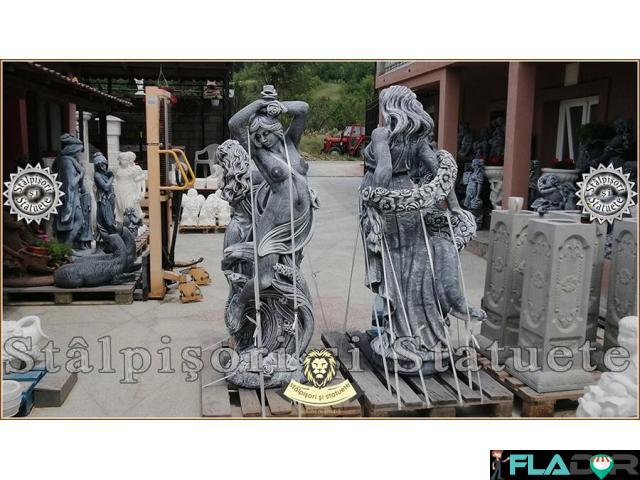 Statuete mari, din beton, pentru curte si gradina. - 2/6