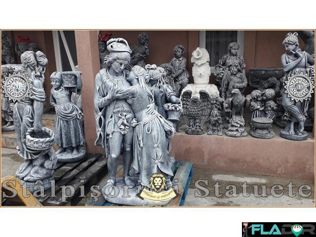 Statuete mari, din beton, pentru curte si gradina. - 4/6