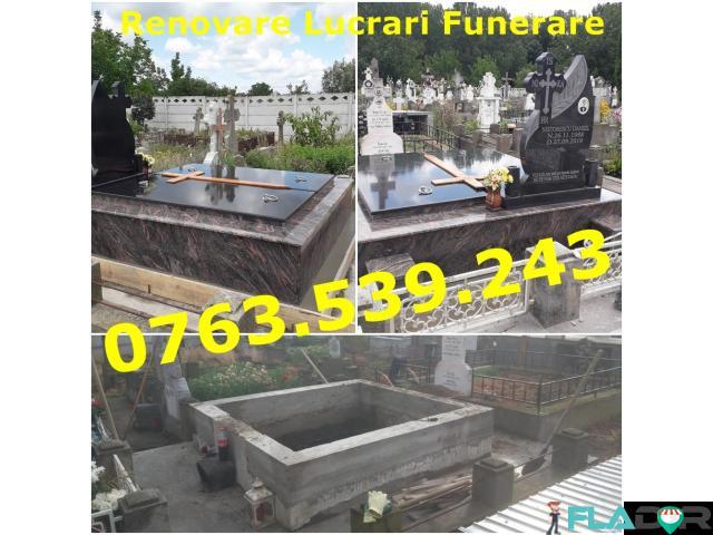 Placare Renovare Cavouri Cripte Lucrari Funerare Marmura Granit - 2/5