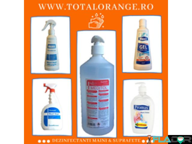 Dezinfectanti maini Total Orange - 2/3