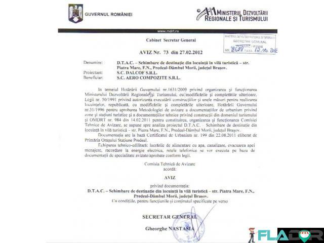 Obtinem avize turism pentru proiecte europene - 1/1