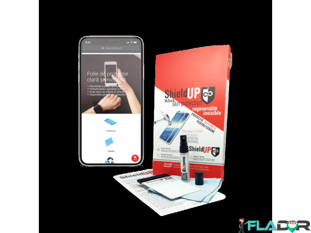 Folie Silicon Premium (orice smartphone) - 1/1