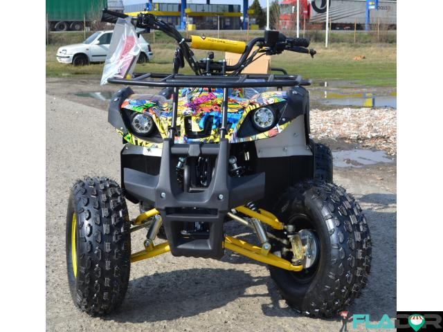 Atv 125Cc Grizzly Graffity Deluxe - 1/3