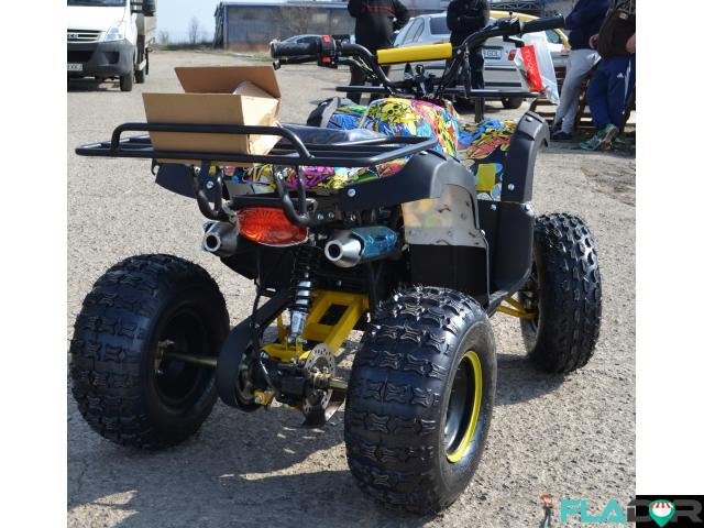 Atv 125Cc Grizzly Graffity Deluxe - 2/3