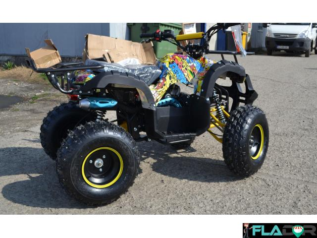 Atv 125Cc Grizzly Graffity Deluxe - 3/3