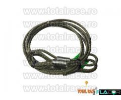 Cablu ridicare constructie 6x36 inima metalica - Imagine 1/5