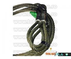 Cablu ridicare constructie 6x36 inima metalica - Imagine 4/5
