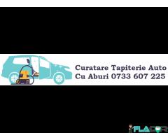 Curatare tapiterie cu aburi Spalatorie tapiterie auto