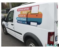 Reincarcare cartus imprimanta laser laborator mobil deplasare in trafic sector 6