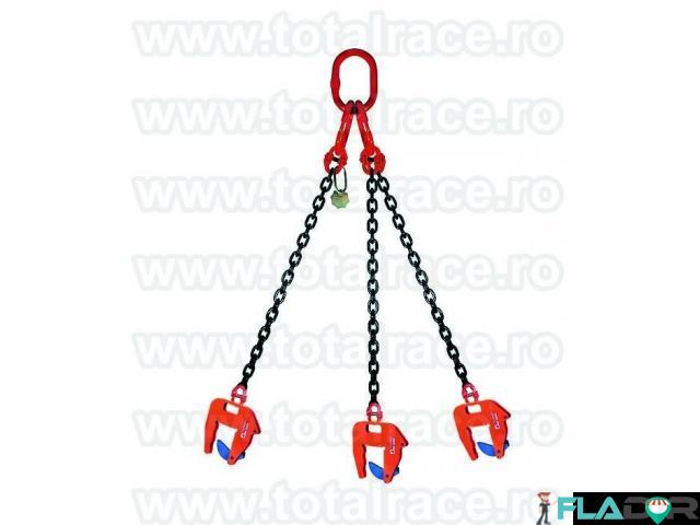 Dispozitive de lant cu clesti pentru transport pe verticala a caminelor de beton - 4/6