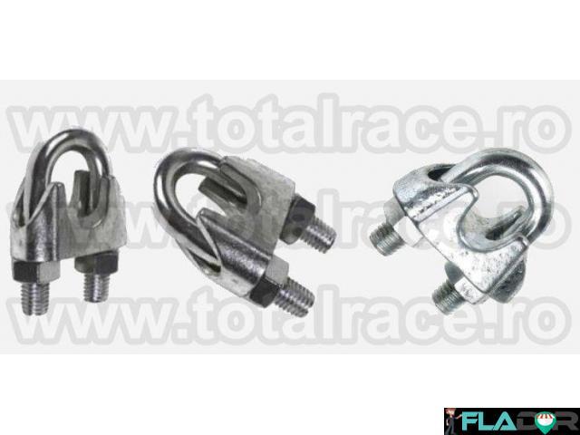 Bride zincate cablu tractiune Total Race - 1/4