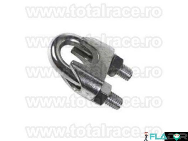 Bride zincate cablu tractiune Total Race - 2/4
