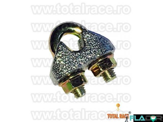 Bride electrogalvanizate cablu otel Total Race - 1/6
