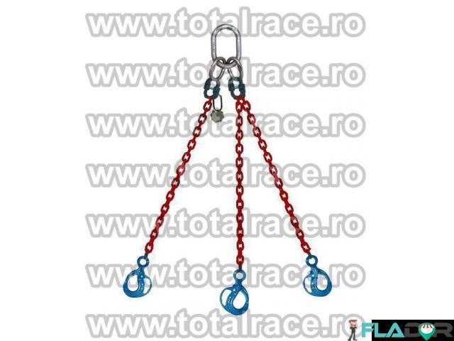 Dispozitiv ridicat sarcini lant grad 100 cu 3 brațe Total Race - 2/4