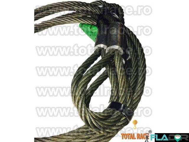 Cabluri legare cu capete mansonate  cu inima metalica - 3/4