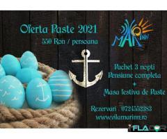 Oferta Paste -1Mai 2021 la Costinesti
