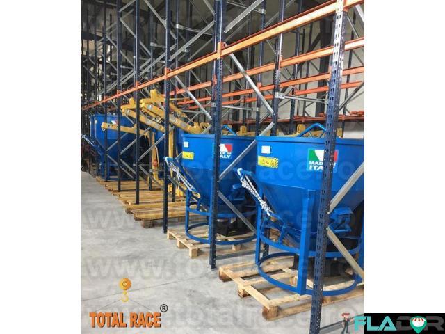 Cupe de beton productie Italia Total Race - 4/5