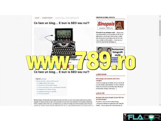 Pagini de internet, web design si SEO - 3/5