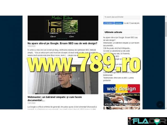 Pagini de internet, web design si SEO - 4/5
