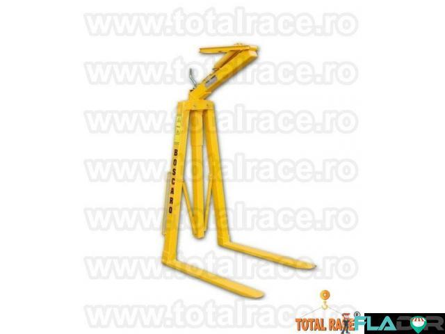 Furci macara, furci paleti de caramida, furci reglabile Total Race - 2/6