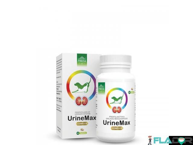 Supliment natural pentru caini cu afectiuni urinare Urine Max tablete - 1/1