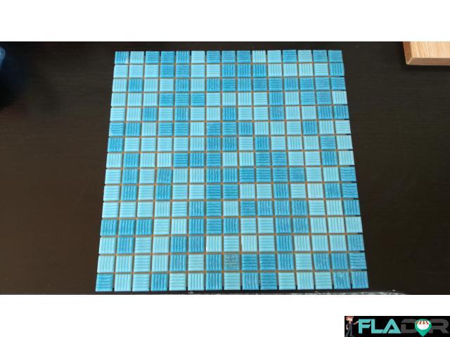 Mozaic de sticla pentru piscina, spa, sauna, stalpi - 1/3