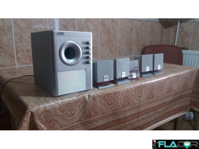 Vand-schimb Sistem audio 5+1 ART - 1/4