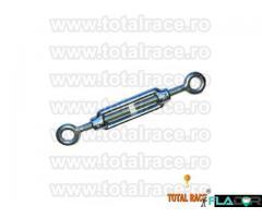 Intinzatoare cablu cu doua ochiuri de prindere Total Race - Imagine 2/5