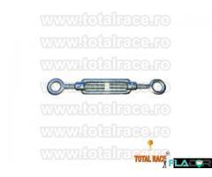 Intinzatoare cablu cu doua ochiuri de prindere Total Race - Imagine 3/5