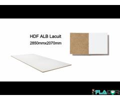 HDF alb lacuit-2,5mm-2850x2070