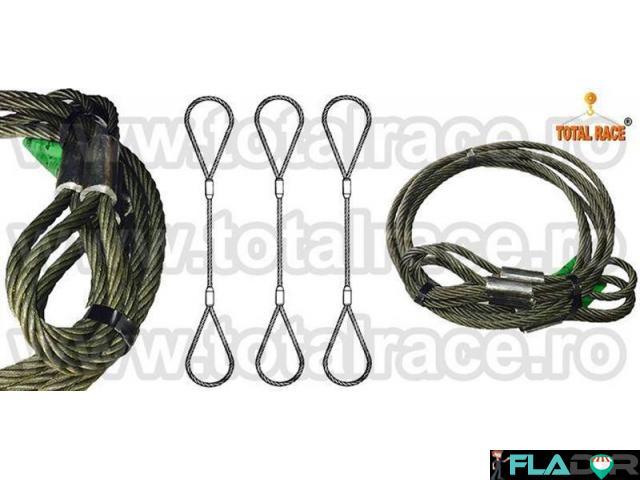 Cablu ridicare constructie 6x36 inima metalica - 1/4