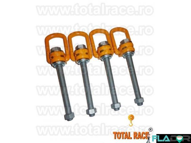Inele rotative , inele ridicare tija lunga Total Race - 2/4