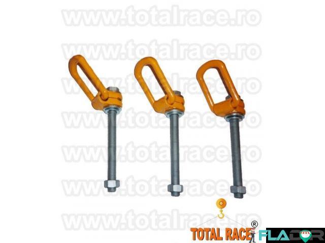 Ocheti rotativi , ocheti ridicare tija lunga Total Race - 3/4