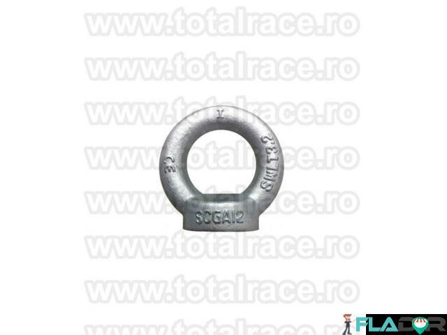 Inel ridicat cu filet interior DIN 582 diverse dimensiuni Total Race - 2/3