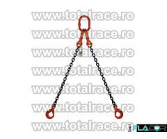 Dispozitive de ridicare din lant cu 2 brate cu carlige rotative cu siguranta - Imagine 4/5