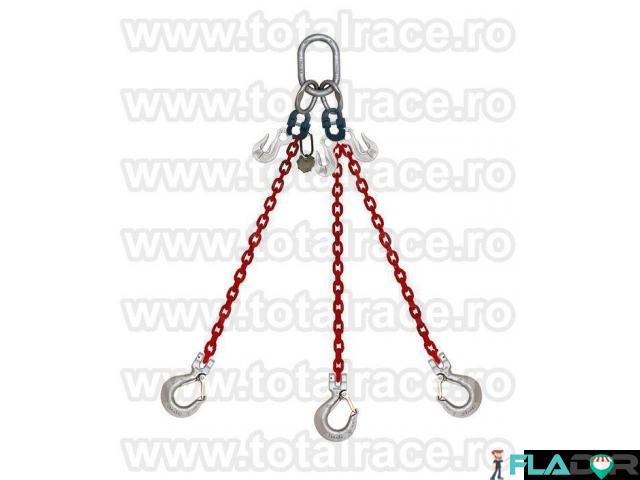 Sisteme ridicare  lanturi grad 100 cu 3 brate  Total Race - 1/2