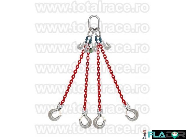 Sisteme ridicare  lanturi grad 100 cu 4 brate Total Race - 1/3