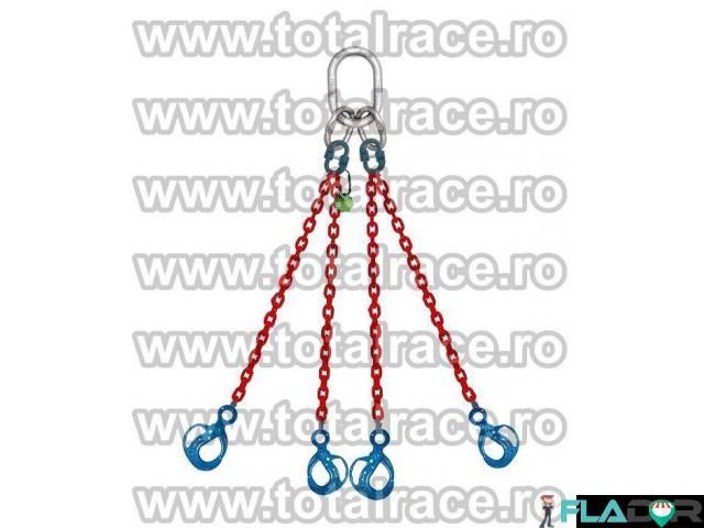 Sisteme ridicare  lanturi grad 100 cu 4 brate Total Race - 2/3