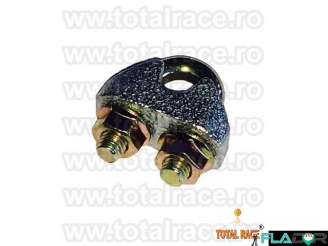 Bride electrogalvanizate cablu otel Total Race - 1/5