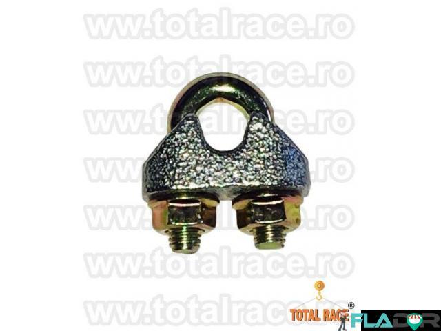 Bride electrogalvanizate cablu otel Total Race - 2/5