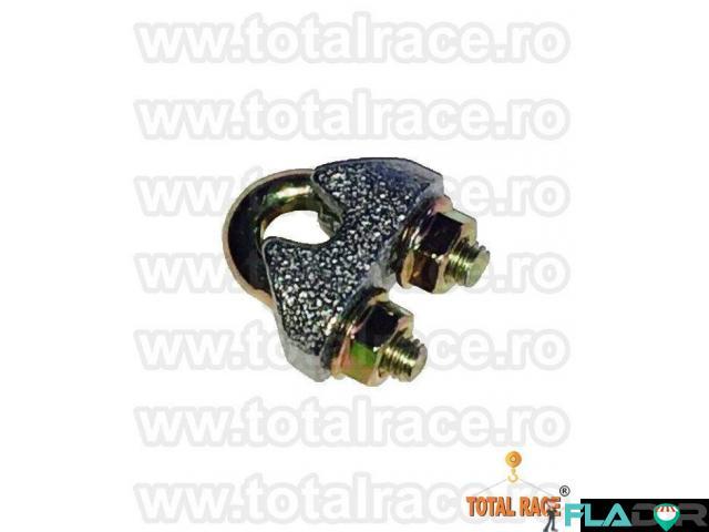 Bride electrogalvanizate cablu otel Total Race - 3/5