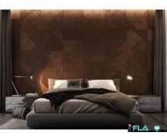 Panouri placare perete lemn 3D Iconic Wood