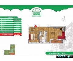 Apartament 2 camere,2 bai-zona linistita-Dr. Belsugului Militari