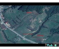 Vand 3 suprafete de teren in Saratel - Bistrita