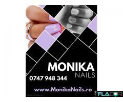 Monika Nails Salon Timisoara - Manichiura, Machiaj, Pensat, Aplicare Gene