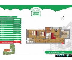 Apartament 3 camere finisat, etaj 2- Insignia Dr Belsugului - Imagine 1/5