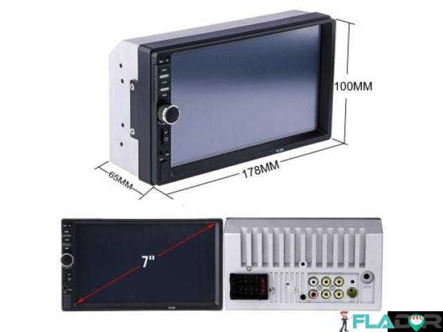 Player auto 2din mp5 cu ecran touchscreen 7 inch +CAMERA +RAMA 250 lei PRODUS NOU!!!!Livrare prin c - 3/6
