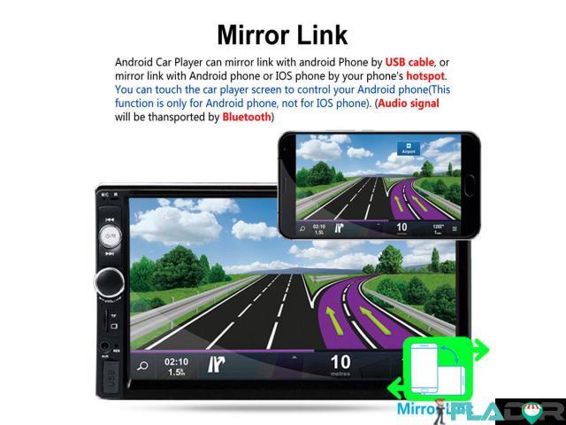 Player auto 2din mp5 cu ecran touchscreen 7 inch +CAMERA +RAMA 250 lei PRODUS NOU!!!!Livrare prin c - 4/6